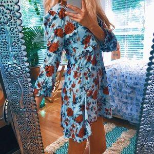 American Eagle Pale Blue Dainty Dress 🌿